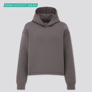 Uniqlo Ultra Stretch Dry Sweat Long Sleeve Hoodie